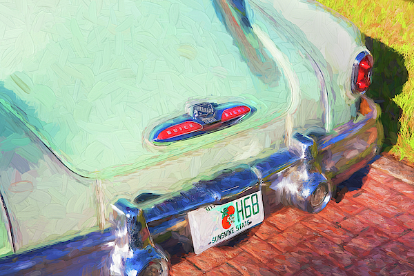 1950 Buick Super Jetback Sedanet - Model 56S X101 by Rich Franco