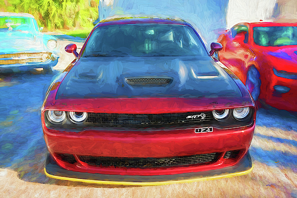 2017 Dodge Challenger SRT Hellcat x102 by Rich Franco
